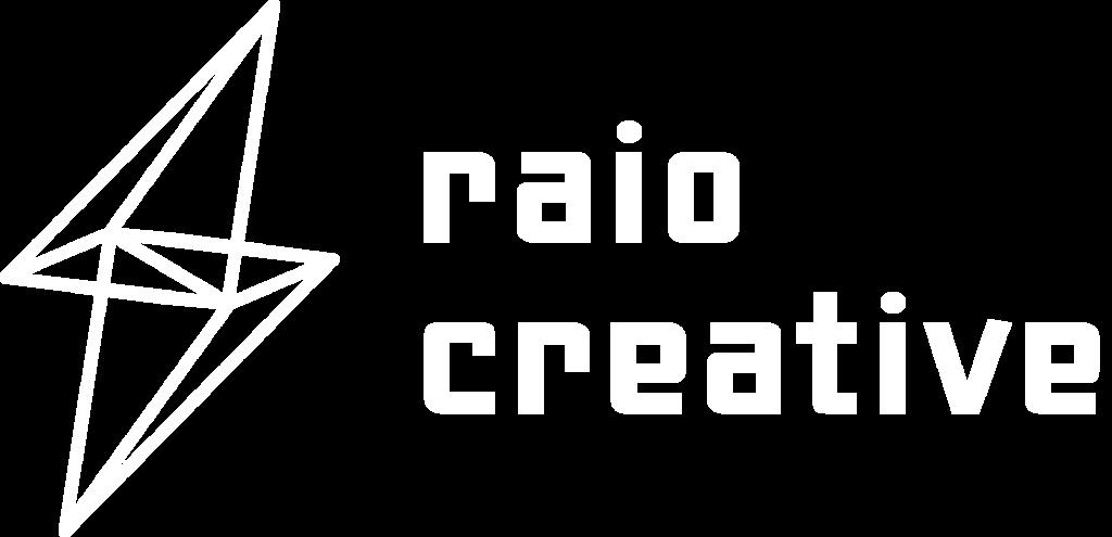 Raio Logo White